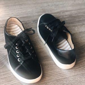 Vionic Black Suede Sneakers